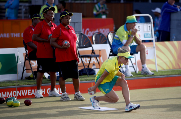 Lawn Bowls Papua New Guinea sign MoU with PNG Sports Federation.
