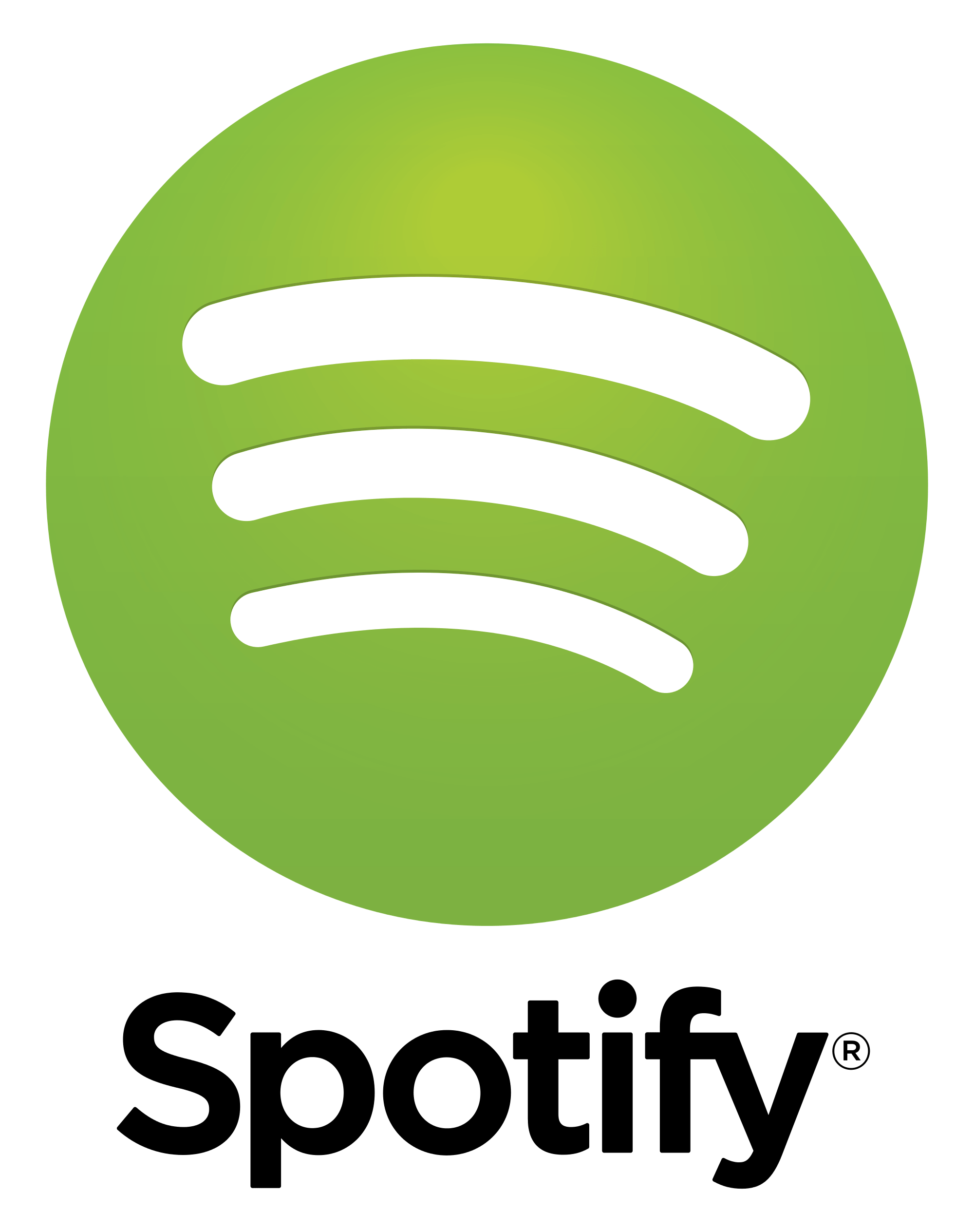Spotify Logo transparent PNG.