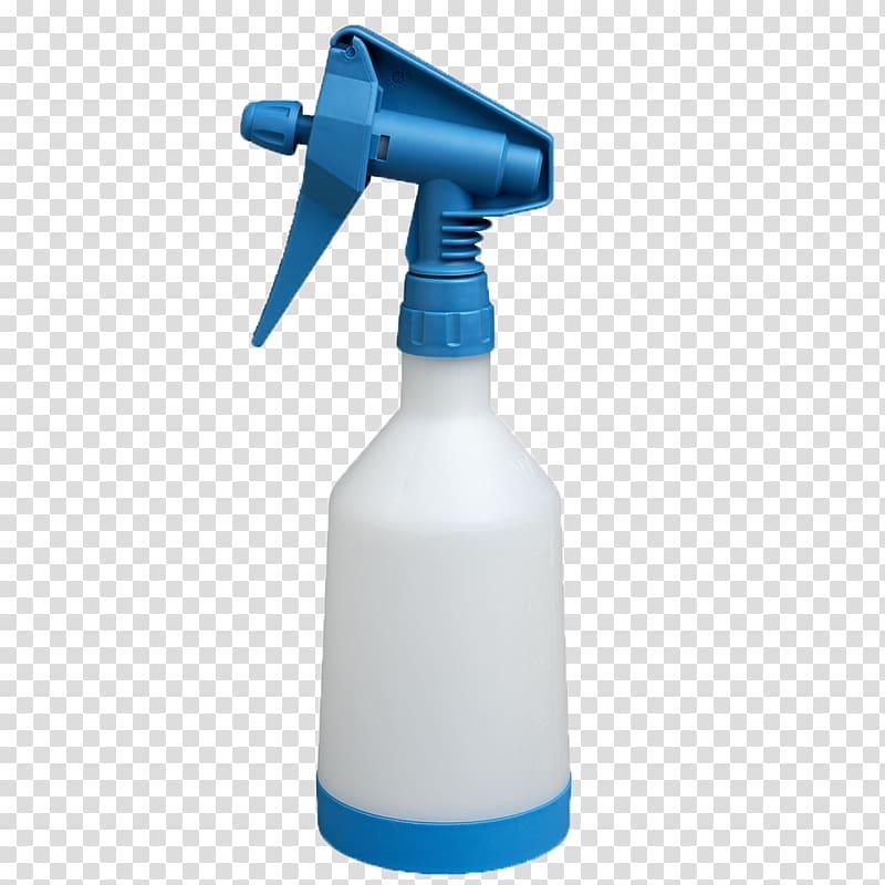 White and blue plastic spray bottle , Sprayer Spray bottle.