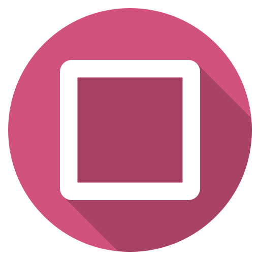 Playstation square Icon.