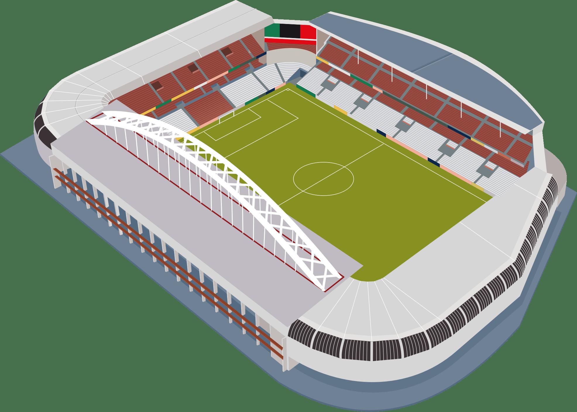 Football Stadium transparent PNG.
