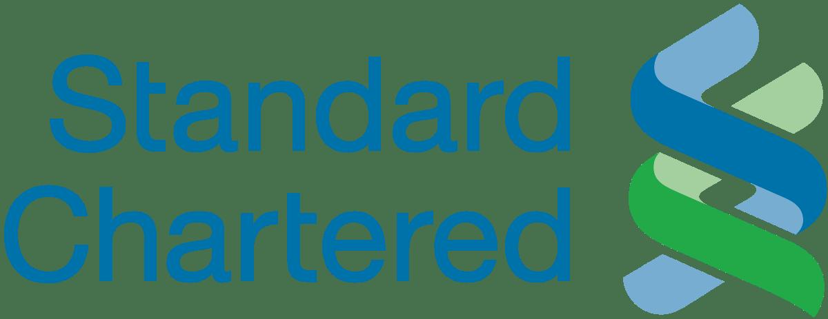 Standard Chartered Logo transparent PNG.