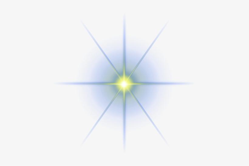 Star Light Effect Vector Png Free, Star Light Effect.