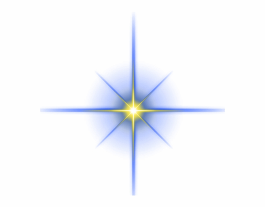 Star Light Effect Png Free Vector Psd File.