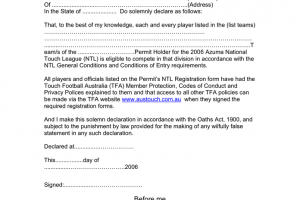 Png statutory declaration form 2 » PNG Image.