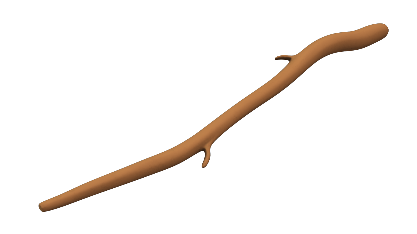 Wooden Stick transparent PNG.