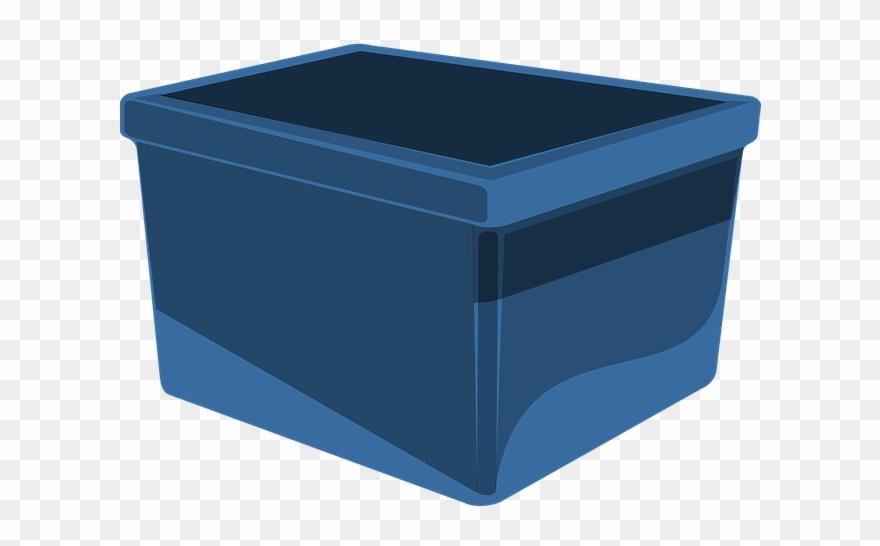 Box Blue Storage.