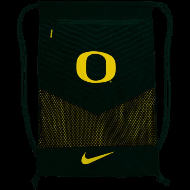 Nike Issued Oregon Ducks Gym Sack String Bag Team Backpack Green.