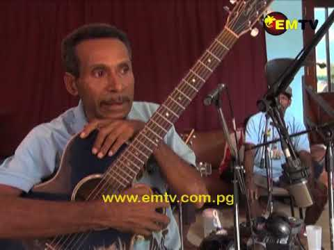 Konsel Production Studio working on reviving String Band Music in PNG.