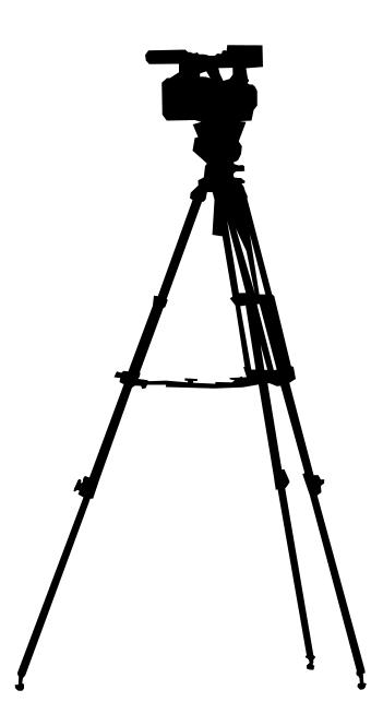 9 Photo Studio Equipment Silhouette (PNG Transparent.