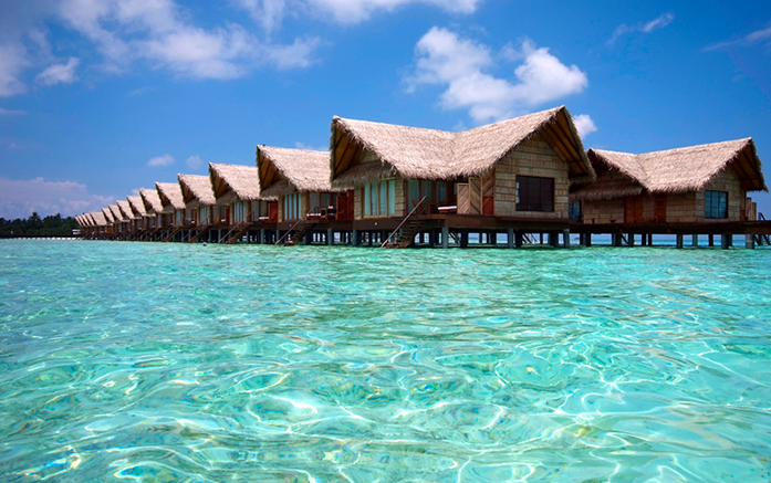 Hudhuranfushi surf resort Maldives.