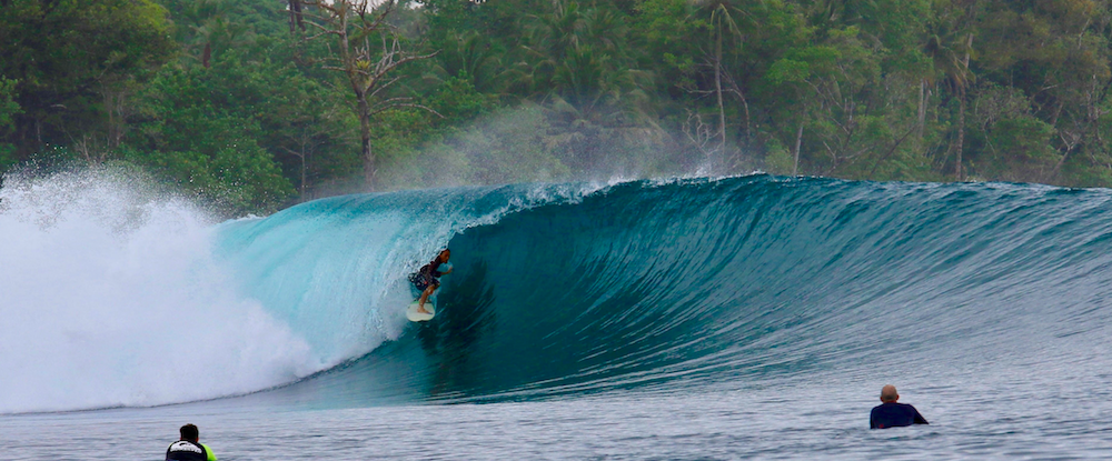 Macaronis Luxury Surf Resort Mentawai, Sumatra. Indonesia.
