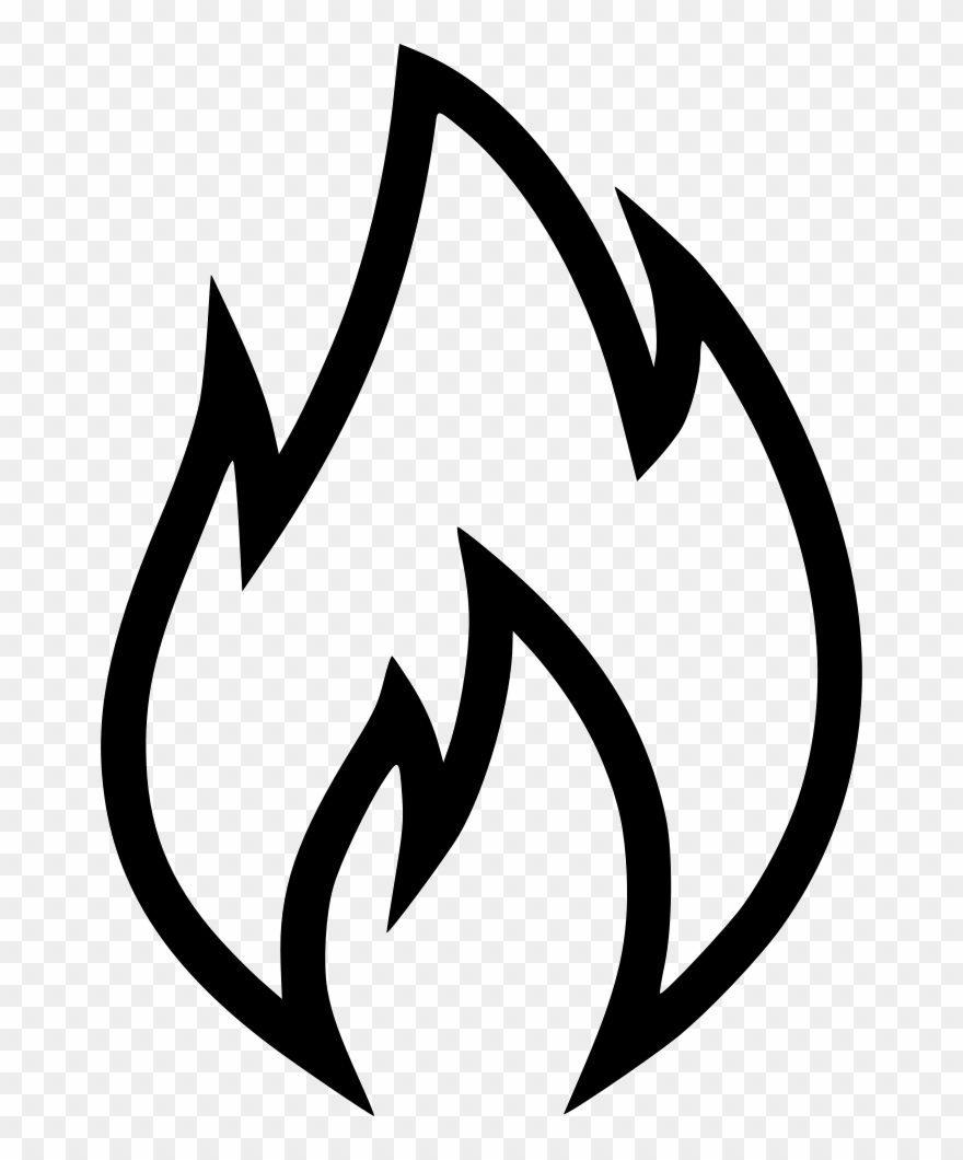 Svg Free Library Flame Png Icon Free Download Onlinewebfonts.