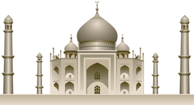 Download TAJ MAHAL Free PNG transparent image and clipart.