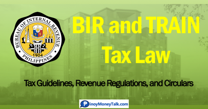 TRAIN Tax Law: Primer and BIR Sample Computations.