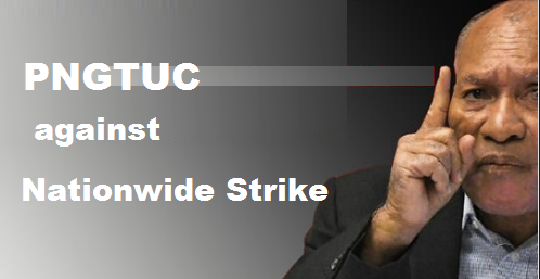 PNG Teachers Union against Opposition\'s Nationwide strike.