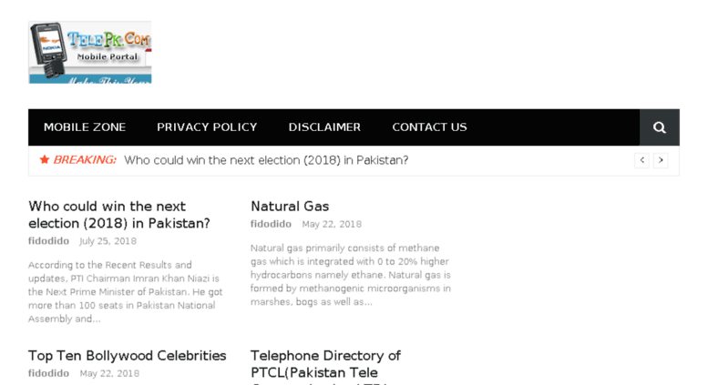 Access telepk.com. PTCL Pakistan Telephone Directory.