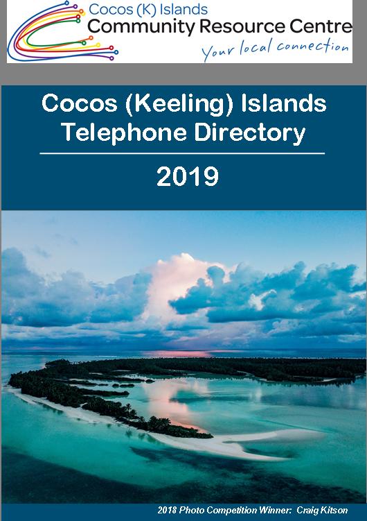 2019 TELEPHONE DIRECTORY.