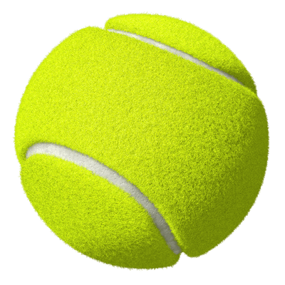 Ball Tennis transparent PNG.