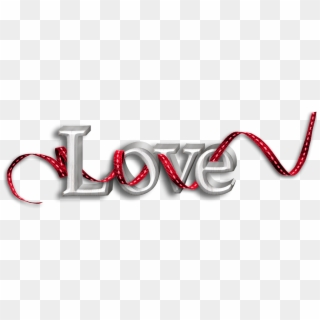 Love Text Effects PNG Images, Free Transparent Image.