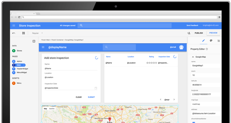Google Cloud\'s G Suite rolls out App Maker beta, adds.
