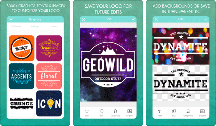 Best iPhone Apps for Logo Design in 2019: Creative Logos.