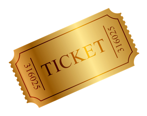 Ticket PNG Images Transparent Free Download.