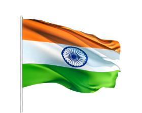 Hindustani tiranga 2 Indian Flag PNG Transparent Image (5.