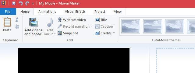 How To Add Titles, Captions And Credits In Windows Movie.