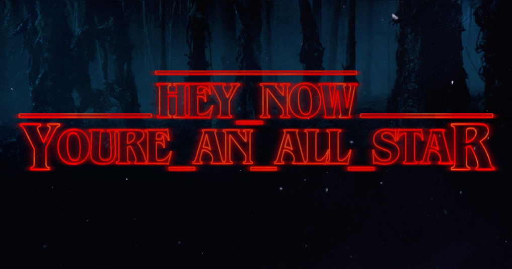 Stranger Things\' title.