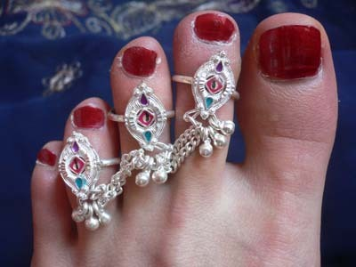 Indian Toe Ring.