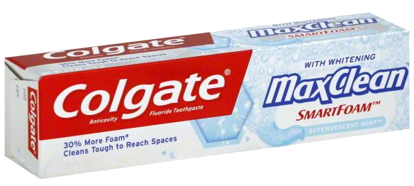 Toothpaste Pack PNG Transparent Image.