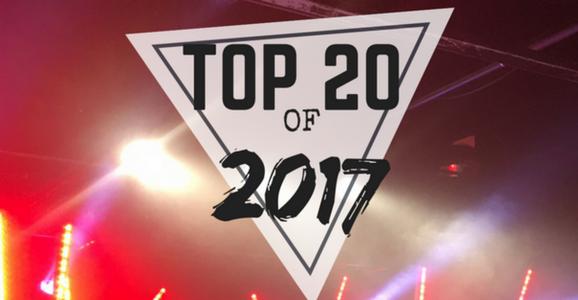 Top 20 Songs of 2017.
