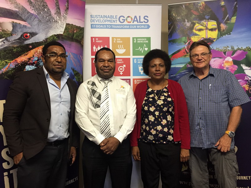 GSTC awareness expands in Papua New Guinea.