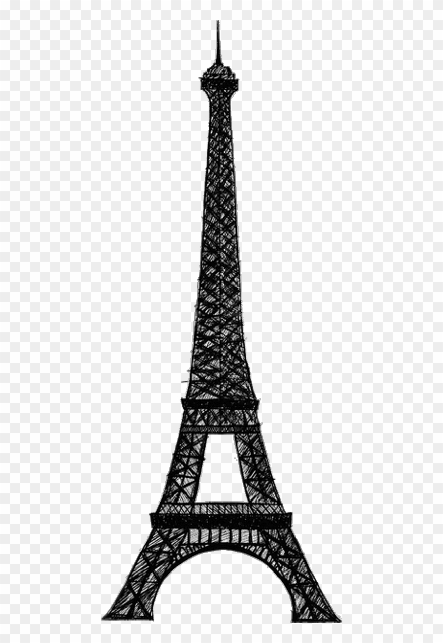 Eiffel Tower Clip Art Png Transparent Png (#3862142.