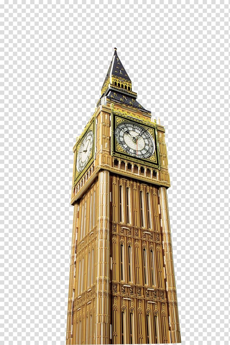 Elizabeth Tower, London, Big Ben Puzz 3D Jigsaw puzzle , Big.