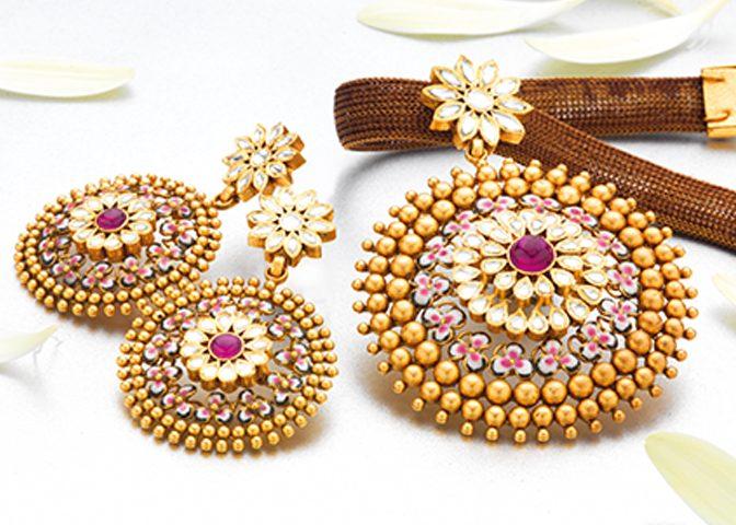 Diamond & Traditional Unique disign Jewellery.