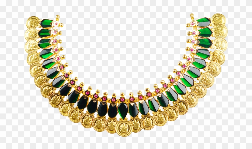 Palakka Mala Is Unique Set Of Gold Necklaces In Kerala.