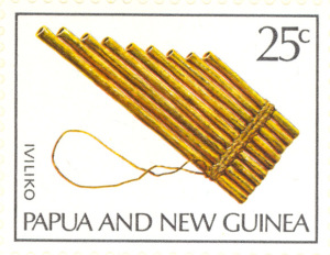 Traditional PNG Musical Instruments.