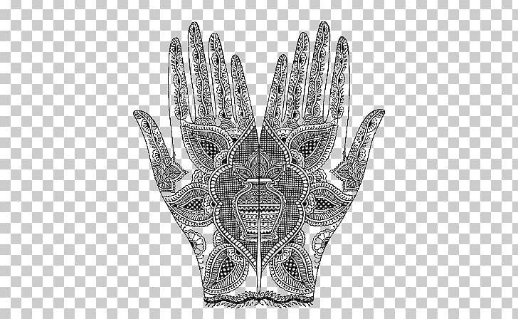 Mehndi Designs: Traditional Henna Body Art Tattoo PNG.