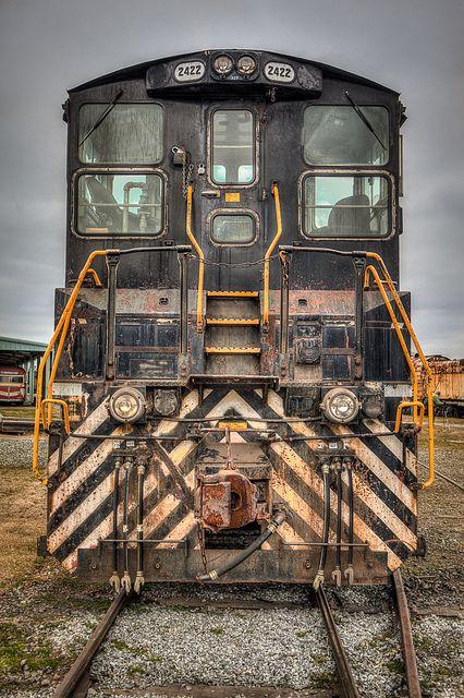 Lonely Locomotive.