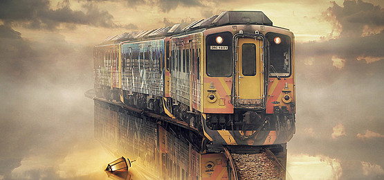 Train Train Poster Banner Poster Background Image Train.