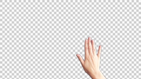 Download Free png Video: Female hands with transparent.