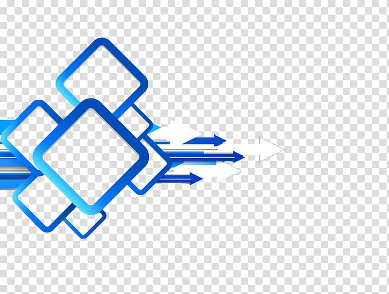 White and blue arrow illustration, Creativity Ppt, PPT.