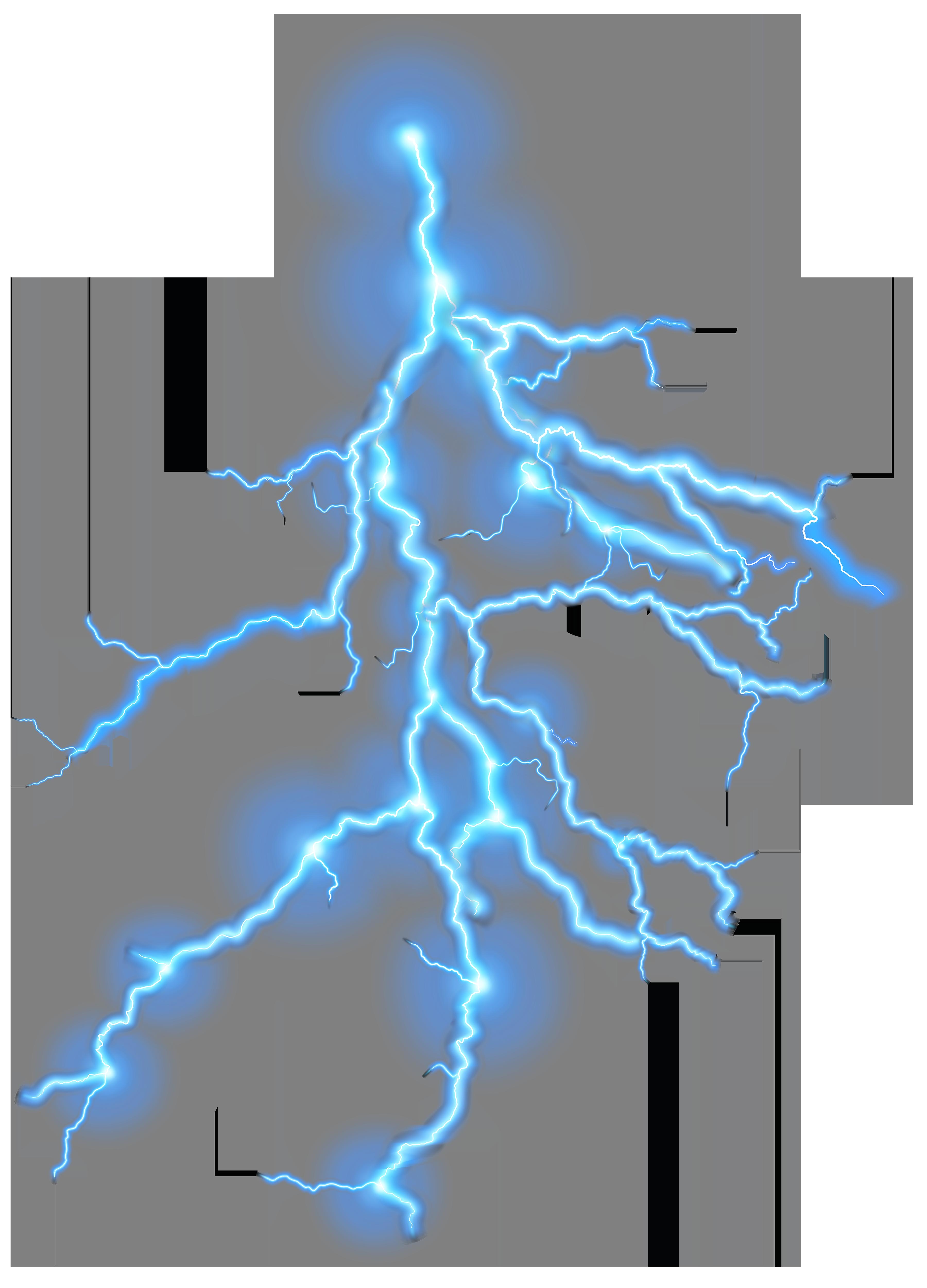 Thunder Transparent PNG Clip Art.