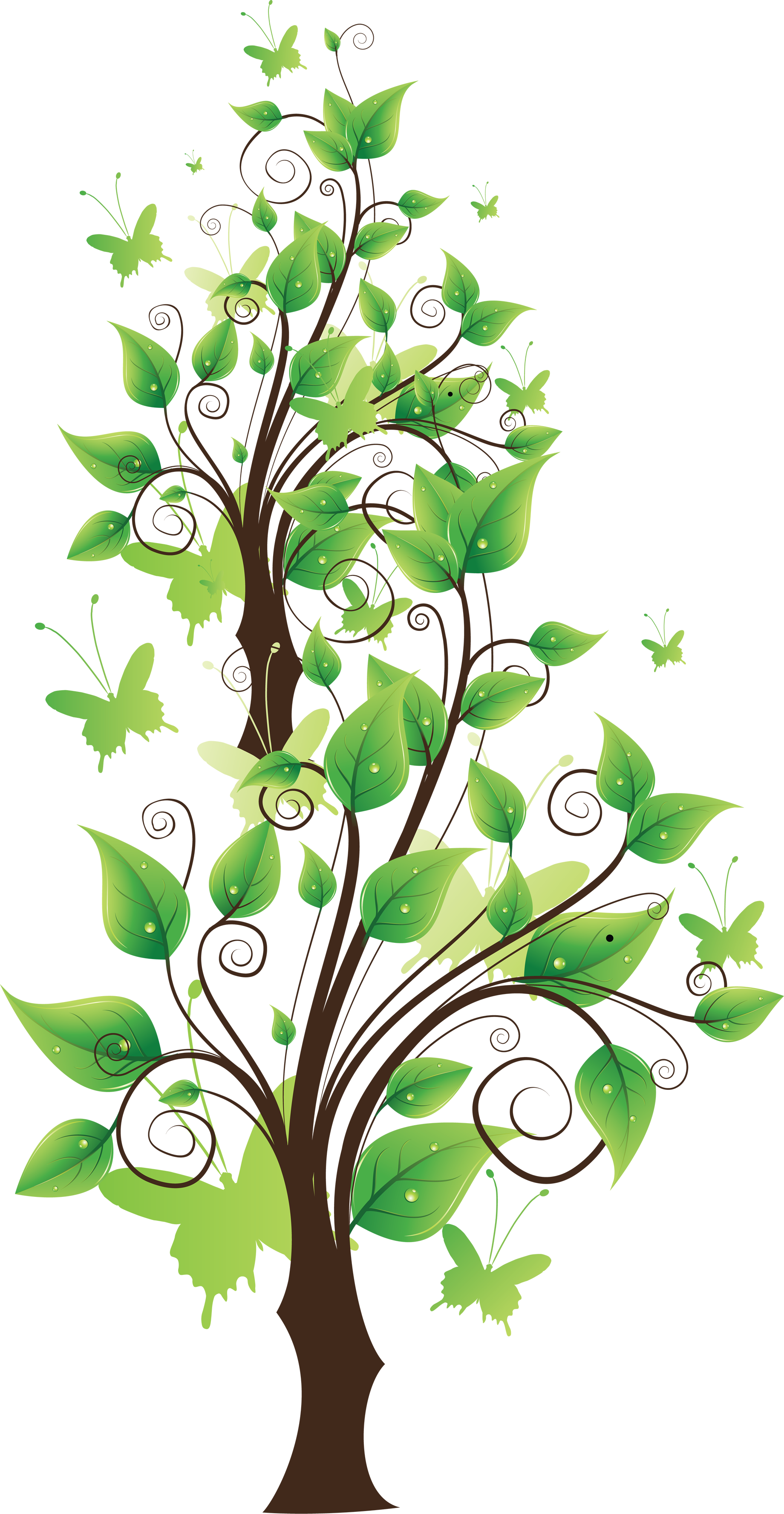 tree clipart cartoon environment background cliparts supporting downloads nature file