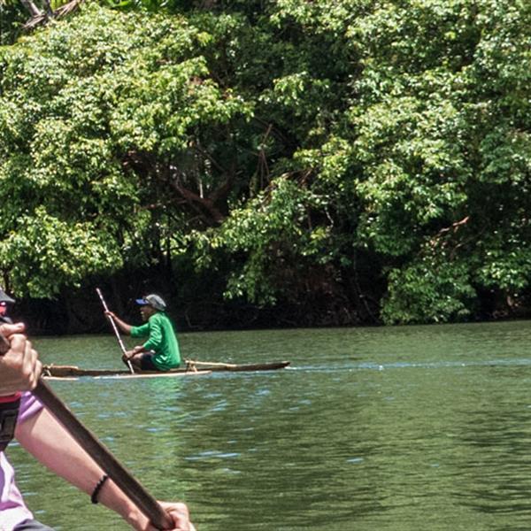 PNG trekking adventures.