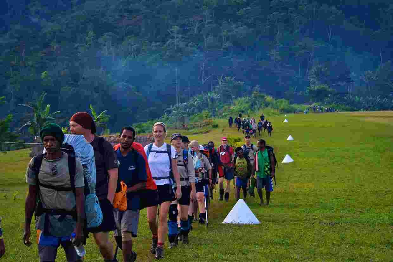 The Kokoda Track.