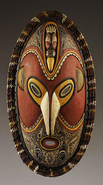 Papua New Guinea exotic arts.