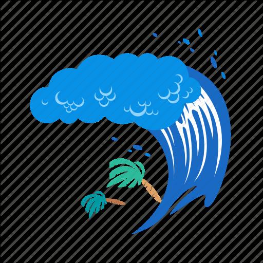 Png Tsunami Warning Vector, Clipart, PSD.